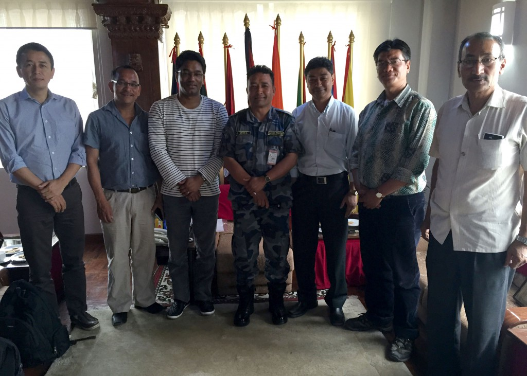 Meeting with IGP of APF