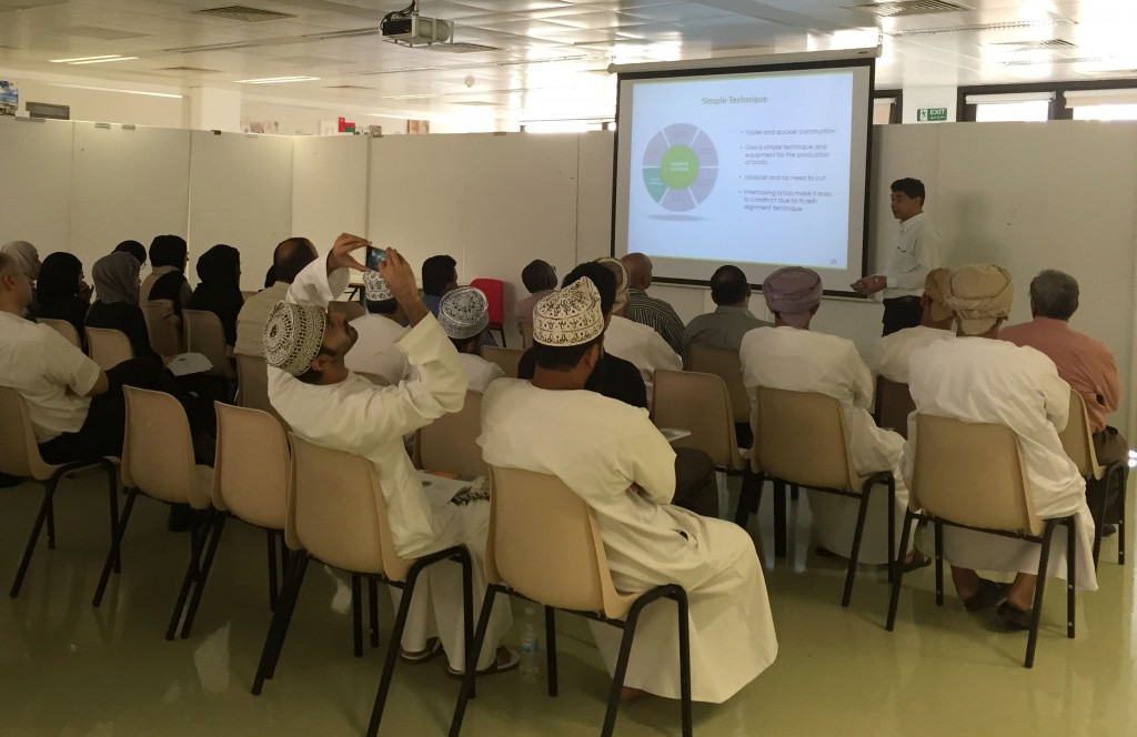 Mr. Sthapit, presented the Habitech Building Technology to staff and students from Department of Architecture and Civil Engineering.