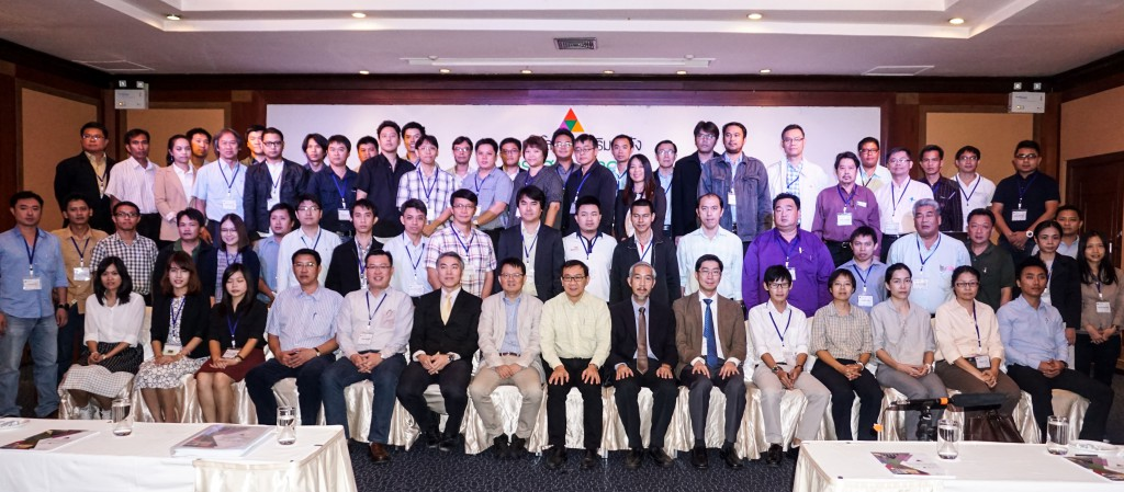 Participants and Speakers of the Training and Capacity Building Programme on Seismic Strengthening for Master Trainers and Local Builders in Thailand